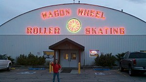 Wagon Wheel In Mills