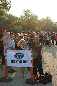American Idol Audition Line in Casper
