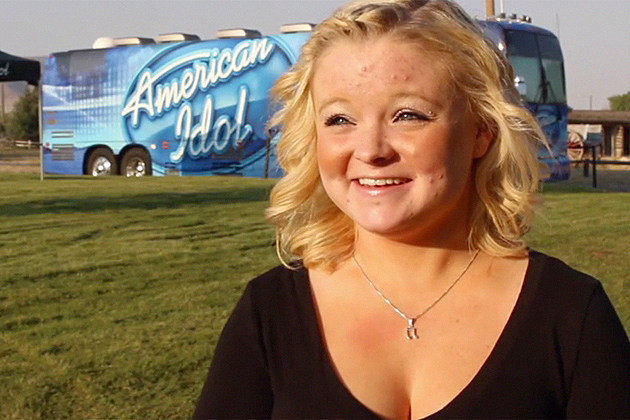 Rashal Williams - First in Line at Casper American Idol Auditions