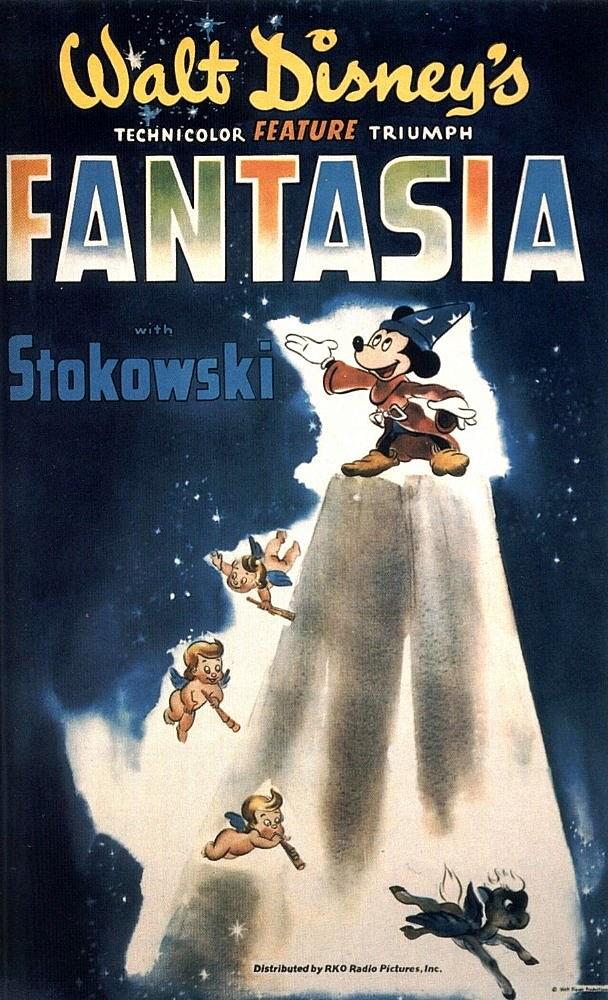 Original 1940 Fantasia artwork