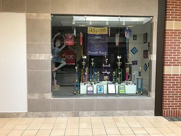 Risning Star Tumbling & Dance Studio Trophy Case 2
